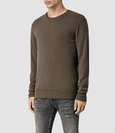 AllSaints Gifts for Him: Mont Cashmere Crew Jumper