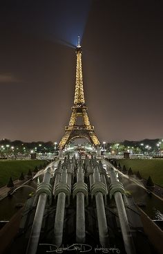 Eiffel Tower From Place du Trocadero - Paris France