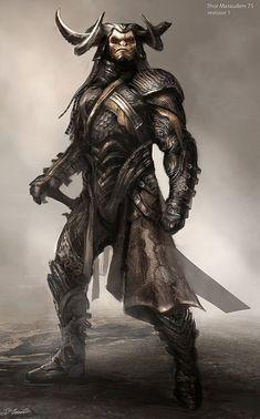 Godhark Lothar, o senhor das armas - Comandante de Abbadon