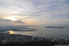 Mt Yashima, Kagawa prefecture, Japan.