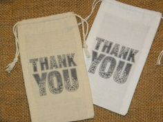 Hey, I found this really awesome Etsy listing at https://www.etsy.com/listing/152058253/24-muslin-wedding-favor-bags-3-x-5-thank