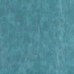 Turquoise Aqua Contemporary Leather Grain Upholstery Fabric