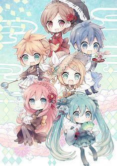 Manga Cosplay in Paris - Maximum Cosplay Anime Chibi, Miku Chibi, Kawaii Anime, Chica Anime Manga, Chibi Girl, Kawaii Chibi, Cute Chibi, Girls Anime, Anime Art Girl