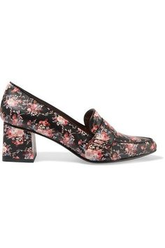 Tabitha Simmons Margot floral-print leather pumps
