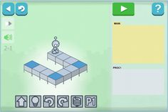 Light Bot: Solve puzzles using programming logic    www.lightbot.com