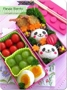 Panda Bento for Beginners | Cooking Gallery