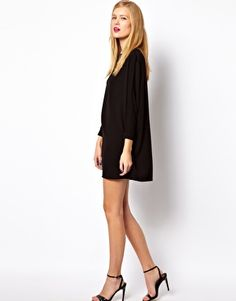 Enlarge ASOS Shift Dress With Batwing Sleeve