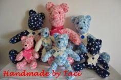 Handmade by Taci: Família Teddy