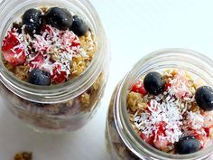 From fruit salad to layered pasta: the best meals to prepare in a Mason jar