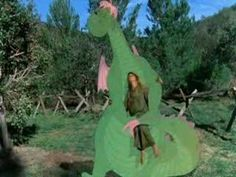 Pete's Dragon; I LOVE this movie. When I saw this for the 1st time as a kid, I was so upset at the end I cried and cried when he left that my mom went out and got me a little dragon toy just so i could have my own Elliott!  :.)