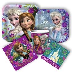 Frozen party supplies coming this October from www.DiscountPartySupplies.com. Disney's Frozen (the adaptation of Hans Christian Andersen's The Snow Queen) will premier on the big screen on November 27th.