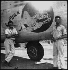 Male Call (B-24 Nose Art)