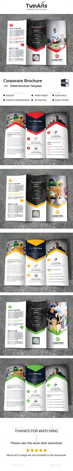 Trifold Brochure Brochures, Brochure template and Tri fold brochure - advertising brochure template