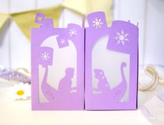 Add a little Disney DIY to your wedding or home decor with this exquisite Tangled paper lantern! Free SVG cut file to use with your Cricut or Silhouette.