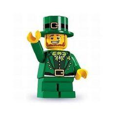 Lego Minifigure Leprechaun