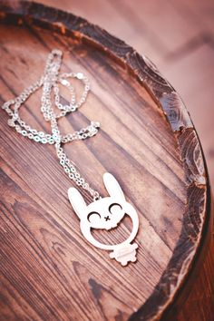 Bunny necklace Festival Jewelry Bunny Summer Necklace by Doreeenka Bottle Opener Keychain, Summer Necklace, Stainless Steel Necklace, Love To Shop, Online Gifts, Gifts For Women, Invite, Unique Gifts, Etsy Seller