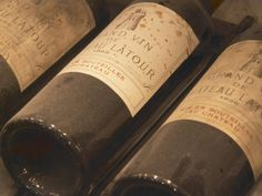 wine lovers art    Chateau Latour from Pauillac, Medoc, Bordeaux, Ulriksdal Vardshus Restaurant, Stockholm, Sweden