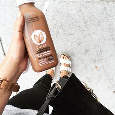 #juisi chocolate-almond milk