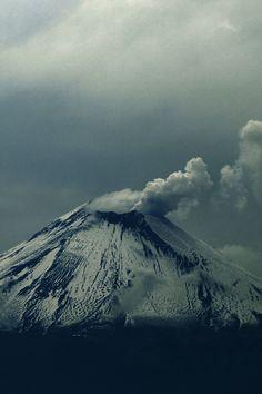 Volcano at Fog | Alfredo Garciaferro...