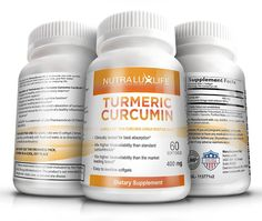 NutraLuxLife TURMERIC CURCUMIN supplements clinically tested 10x more absorption 60 softgels 400mg anti-inflammatory turmeric root extract 95% sustained release water soluble tablets => Special  product just for you. See it now! : Herbal Supplements