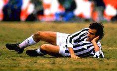 Michel Platini Finale di Coppa Intercontinentale 8/12/1985 Argentinos Juniors - Juventus 4- 2