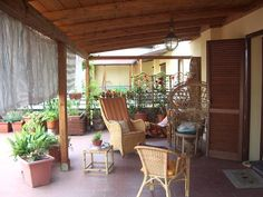 Terrazzo, Porch, Outdoor Decor, Home Decor, Houses, Rome, Balcony, Patio, Pouch
