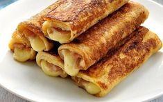Αυγοφέτες με ζαμπόν και τυρί για ένα τέλειο πρωινό! Breakfast Snacks, Breakfast Recipes, Food Network Recipes, Food Processor Recipes, Empanadas, Cooking Time, Cooking Recipes, Mumbai Street Food, My Best Recipe