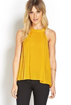 Trapeze Halter Top | FOREVER21