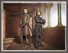 Robb & Jon (Richard Madden & Kit Harington)