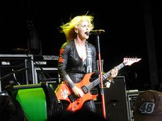 Taken by me :-) Lita Ford July 7 2012 DTE Detroit | Flickr - Photo Sharing!