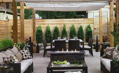 townhouse backyard design ideas - Google Search
