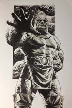 Darkseid art By Lee Bermejo Comic Villains, Dc Comics Characters, Darkseid Dc, Lee Bermejo, Disney Illustration, Univers Dc, Arte Dc Comics, Sketch Painting, Comics Universe