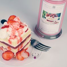 Our Strawberry Shortcake Jewelry Candle is a sweet scent of extra sweet vanilla cake with freshly sliced california berries. Best Candles, Soy Wax Candles, Scented Candles, Candle Rings, Jewelry Candles, Candle Store, Candels, Nikko, Strawberry Shortcake