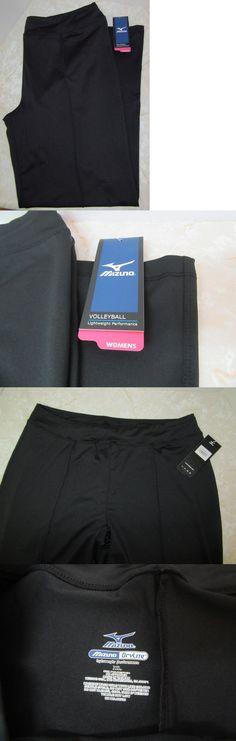 Clothing 159130: Mizuno Womens Volleyball Warm Up Pants Sz Xl Black Drylite Lightweight New Nwt -> BUY IT NOW ONLY: $33.96 on eBay!