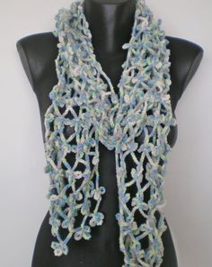 Handmade colorful scarves sporty look by fotolabidamaria on Etsy, €23.80