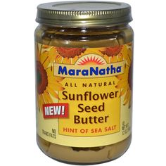MaraNatha, Sunflower Seed Butter, 12 oz (340 g) This is awesome for people with nut allergies.