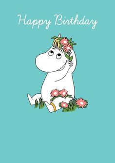 Moomin Snork Maiden with Flowers Blank Birthday Card Birthday Greetings, Birthday Wishes, Birthday Cards, Happy Birthday, Moomin Wallpaper, Iphone Wallpaper, Little My Moomin, Halloween Costumes Scarecrow, Tove Jansson