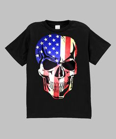 Look at this Micro Me Black Flag Skull Tee - Infant, Toddler & Boys on #zulily today!