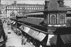 Mercado - Praça da Figueira (demolido em 1949)