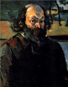 Self-portrait, Paul Cezanne, 1875