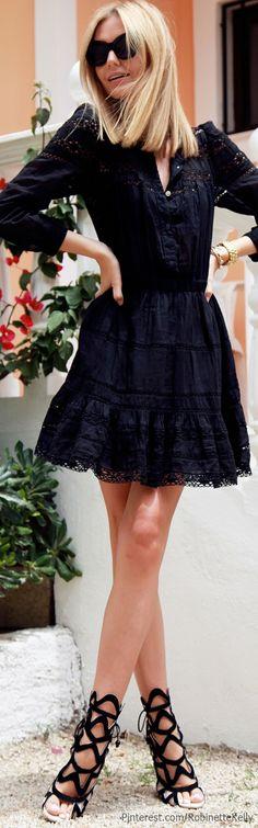 Mila Tuula Street Style | Isabel Marant dress, Sophia Webster sandals