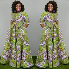 Amazing Ankara Gown Styles That Will Turn Heads This SummerLatest Ankara Styles and Aso Ebi Styles 2020 Trendy Ankara Styles, Ankara Gown Styles, Ankara Gowns, Ankara Maxi Dress, Dashiki Dress, Dress Styles, African Fashion Ankara, Latest African Fashion Dresses, African Print Fashion