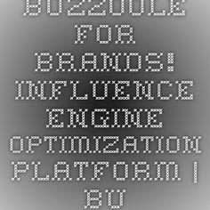 Buzzoole for brands! - Influence engine optimization platform   Buzzoole