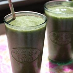 Healthy Fruit Smoothie Recipe: The Green Banana - Healthy Fruit Smoothie Recipes - Shape Magazine