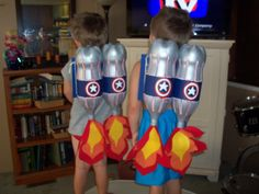 Captain America Jet Packs