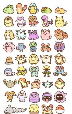 (*** http://BubbleCraze.org - Best-In-Class new Android/iPhone Game ***)  Chibi Pokemon