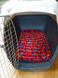 Ravelry: Doggie Kennel Blanket pattern by Lauren Maureen