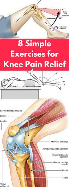 8 Simple Exercises for Knee Pain Relief - FHL