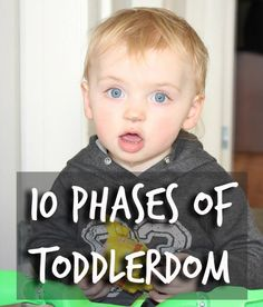 10 phases of Toddler