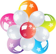 Balloons Bunch Transparent Picture
